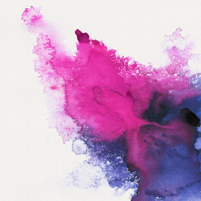 istock Abstract stain watercolors 482509607