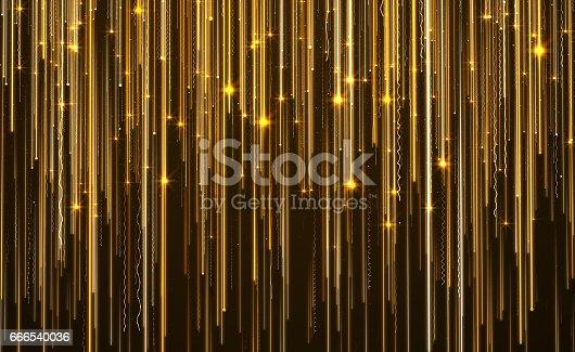 istock Abstract Star Light Streak Elegant Background 666540036