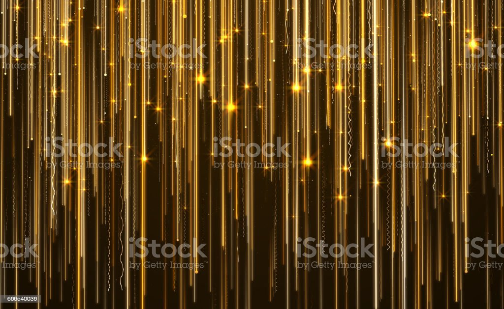 Abstract Star Light Streak Elegant Background stock photo