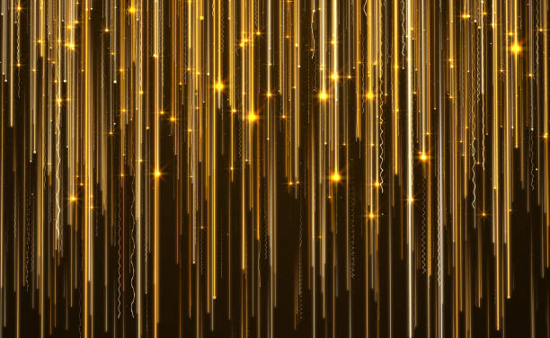 abstract star light streak elegant background - award stock photos and pictures