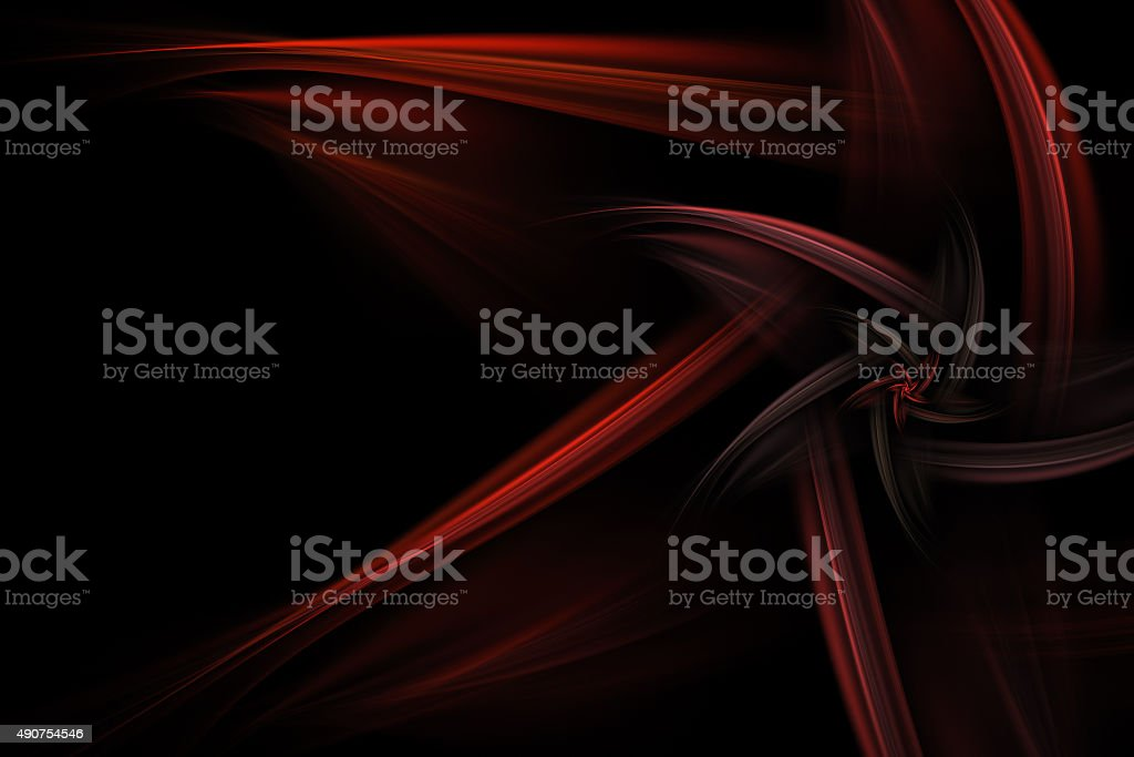 abstract star like red fractal over black background abstract star like red fractal over black background 2015 Stock Photo