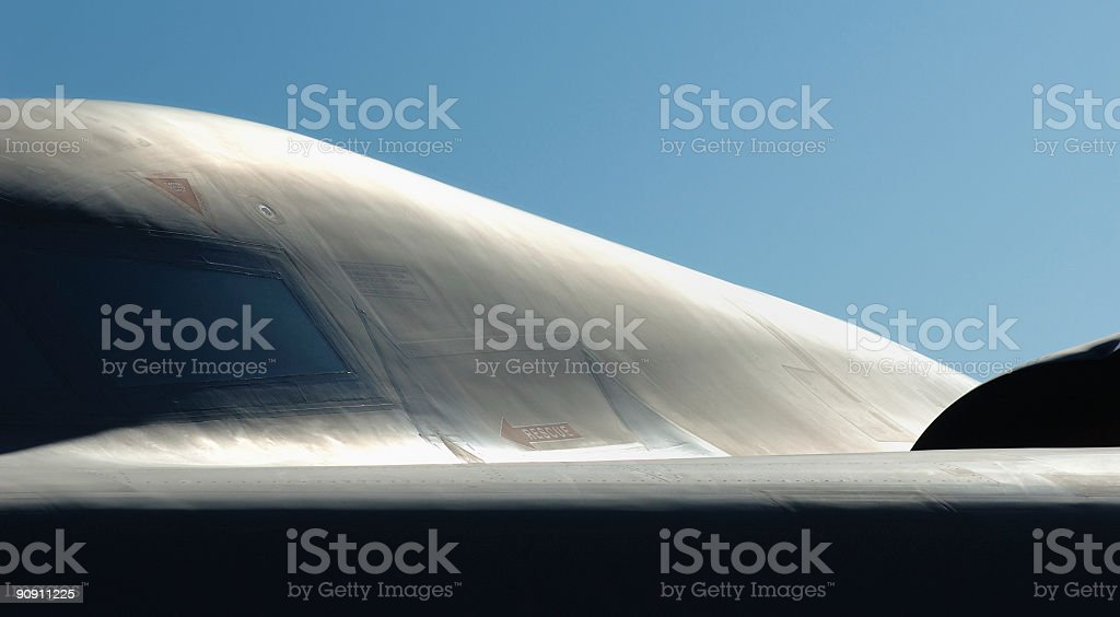 Abstract Stealth stock photo