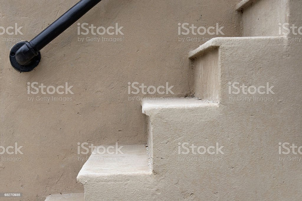 Abstract Steps royalty-free stock photo