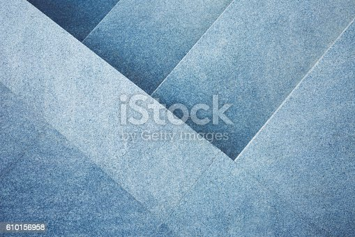istock Abstract stone stairs background 610156958