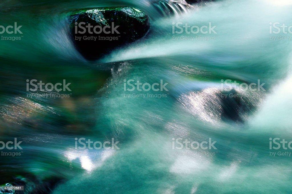 Abstract Stream royalty-free stock photo