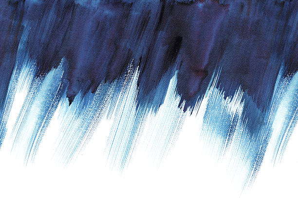 Abstract stripe watercolors. stock photo