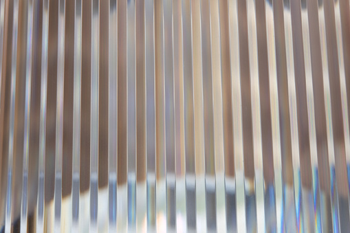 Abstract, striped, glas background
