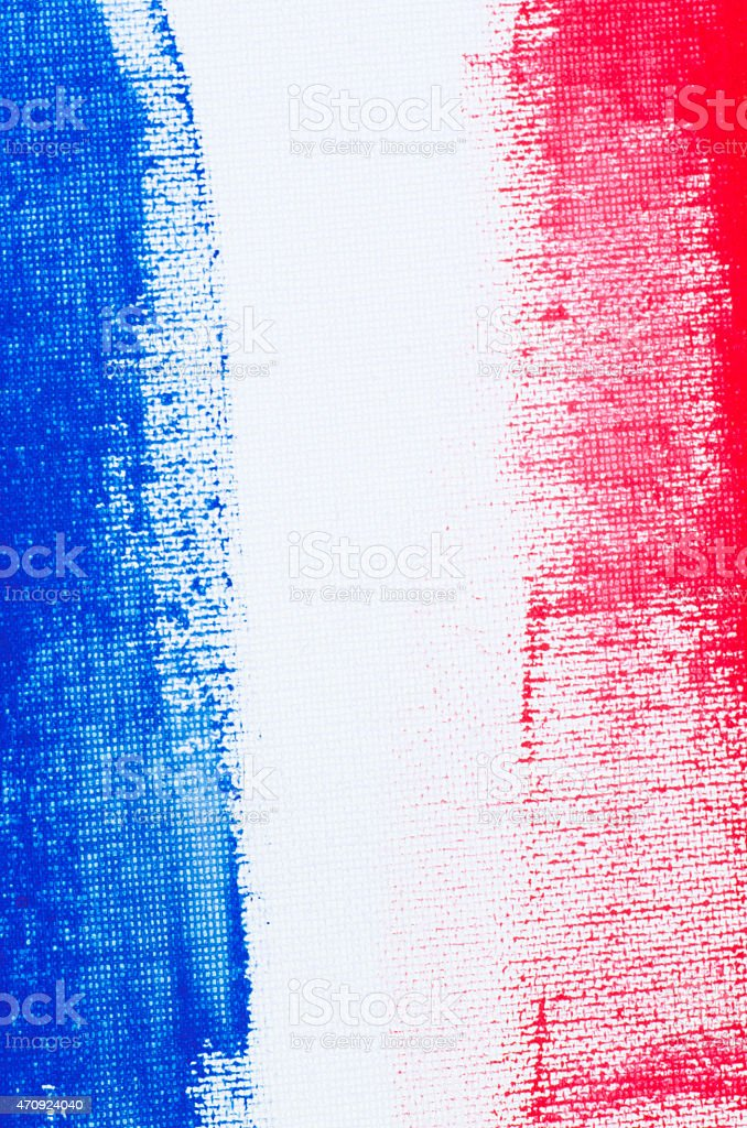Abstract strips in red and blue with white in between stock photo
