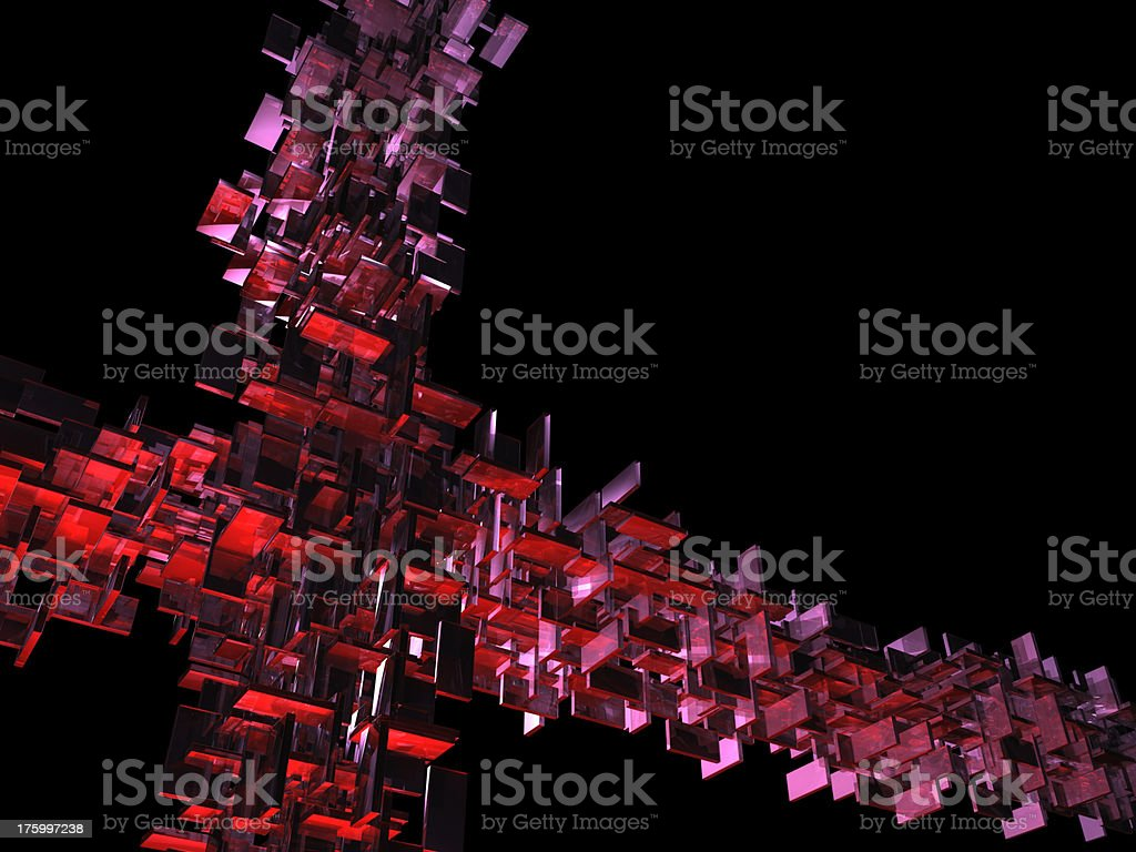 Abstract Structure 1 royalty-free stock photo