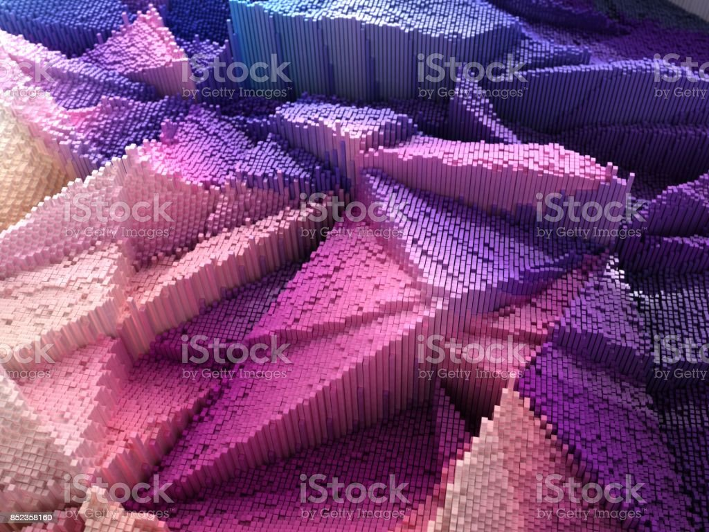 abstract structure stock photo