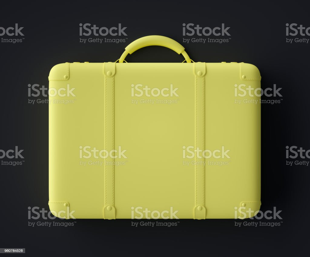 Abstract Suitcase Symbol stock photo