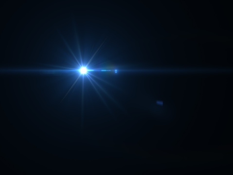 868064724 istock photo Abstract sun burst with digital lens flare light over black background 1001358754
