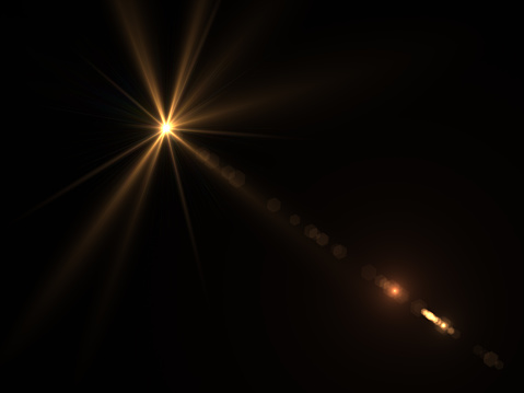 868064724 istock photo Abstract sun burst with digital lens flare light over black background 1001358762