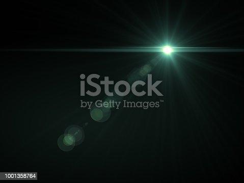 868064724istockphoto Abstract sun burst with digital lens flare light over black background 1001358764