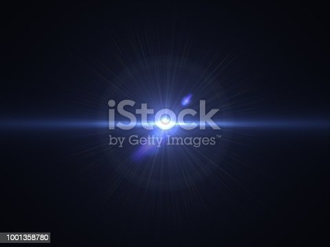 868064724istockphoto Abstract sun burst with digital lens flare light over black background 1001358780