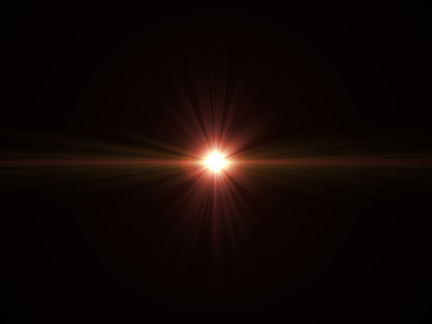 868064724 istock photo Abstract sun burst with digital lens flare light over black background 1001358782