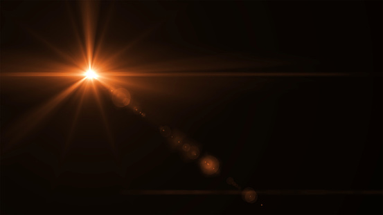 868064724 istock photo abstract sun burst with digital lens flare light over black background 868064724