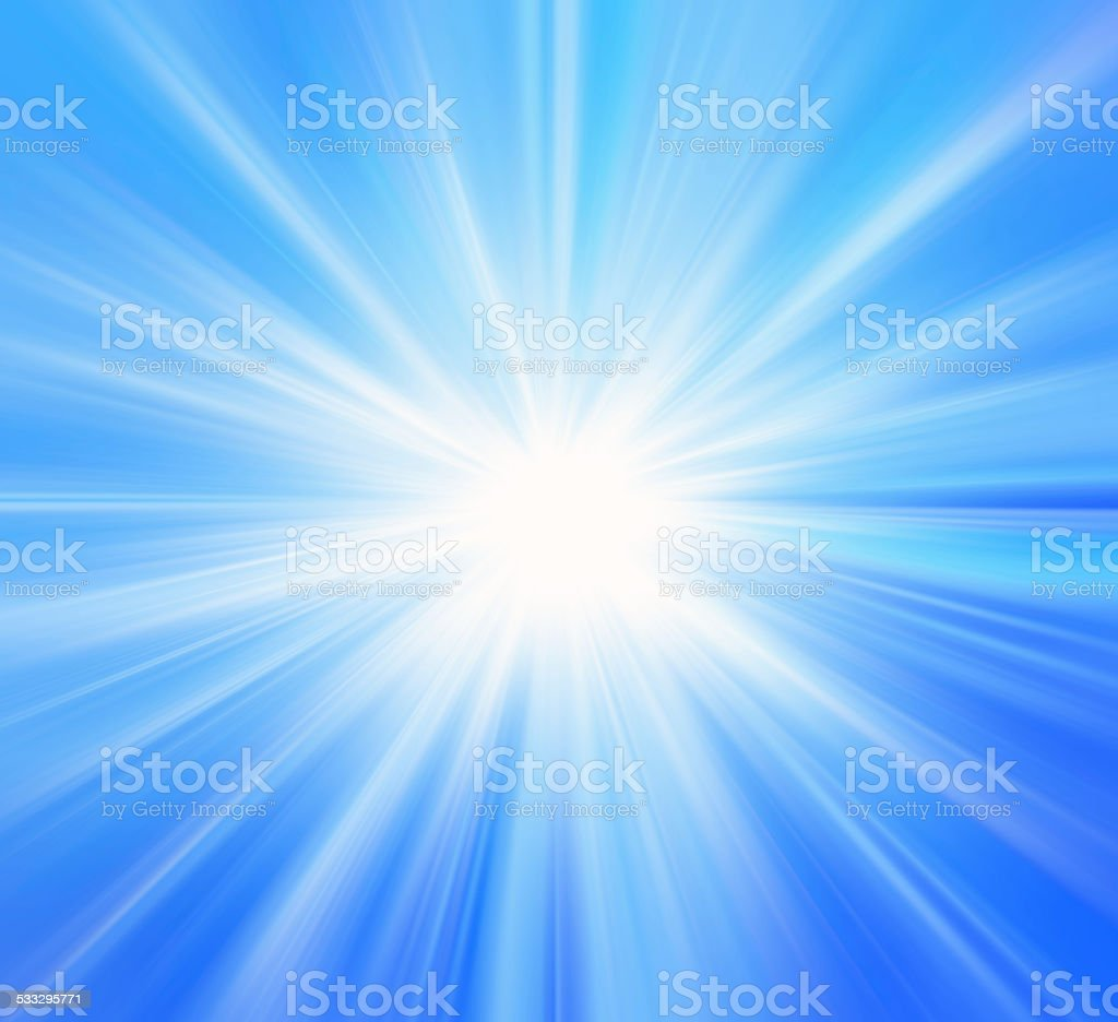 Abstract sunlight background stock photo