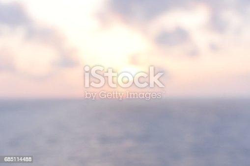 istock Abstract sunset 685114488