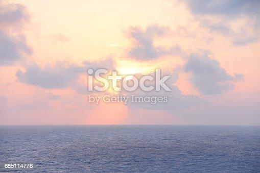 istock Abstract sunset 685114776