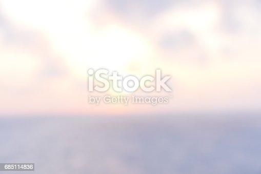 istock Abstract sunset 685114836
