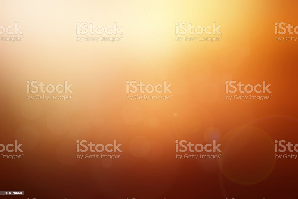 Abstract sunset tone blurred background stock photo