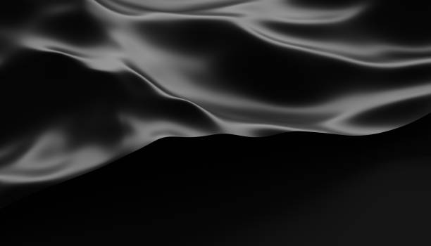 Abstract Surface. 3D Rendering Abstract 3d rendering of smooth surface with ripples, cloth with waves, modern background design for poster, cover, branding, banner, placard liquid stock pictures, royalty-free photos & images