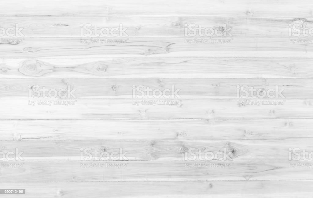 White Wood Table Texture Abstract Surface Background Close Up Of
