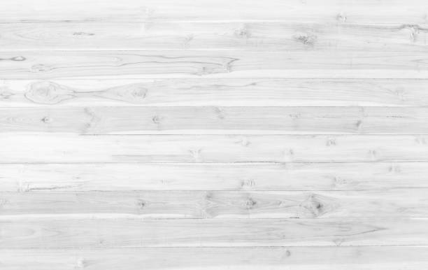 Abstract surface white wood table texture background. Close up of dark rustic wall made of white wood table planks texture. Rustic white wood table texture background empty template for your design. - foto stock