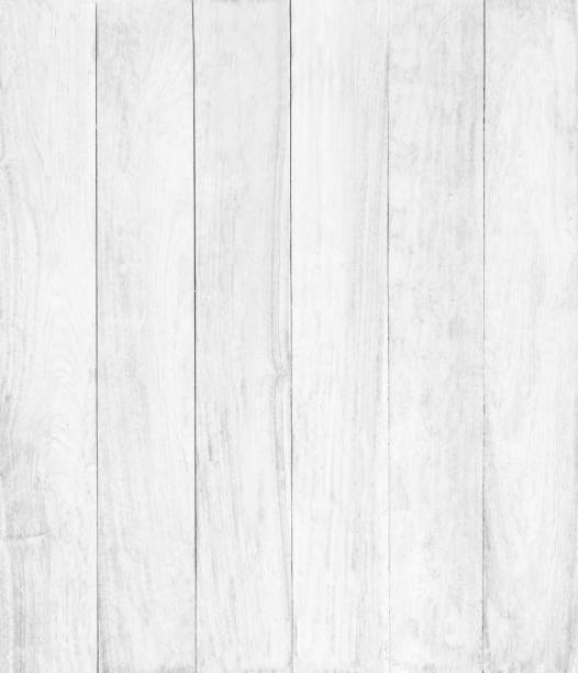 Abstract surface white wood table texture background. Close up of dark rustic wall made of white wood table planks texture. Rustic white wood table texture background empty template for your design. stock photo