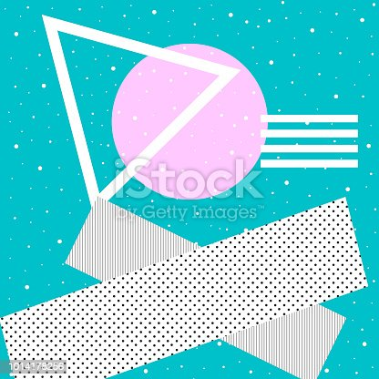istock Abstract surrealism and minimalism. Hipster background 1014178256