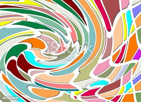 483533237istockphoto Abstract swirl pattern of rainbow color texture 652620348