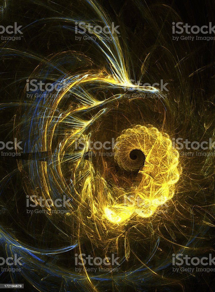Abstract swirl pattern royalty-free stock photo
