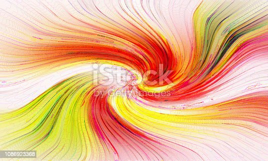 1061380420 istock photo Abstract swirl rainbow background 1086923368