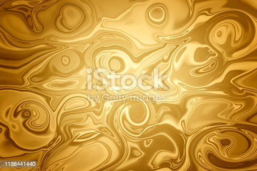 837011202istockphoto Abstract Swirling Gold Background with vignette and copyspace 1138441440