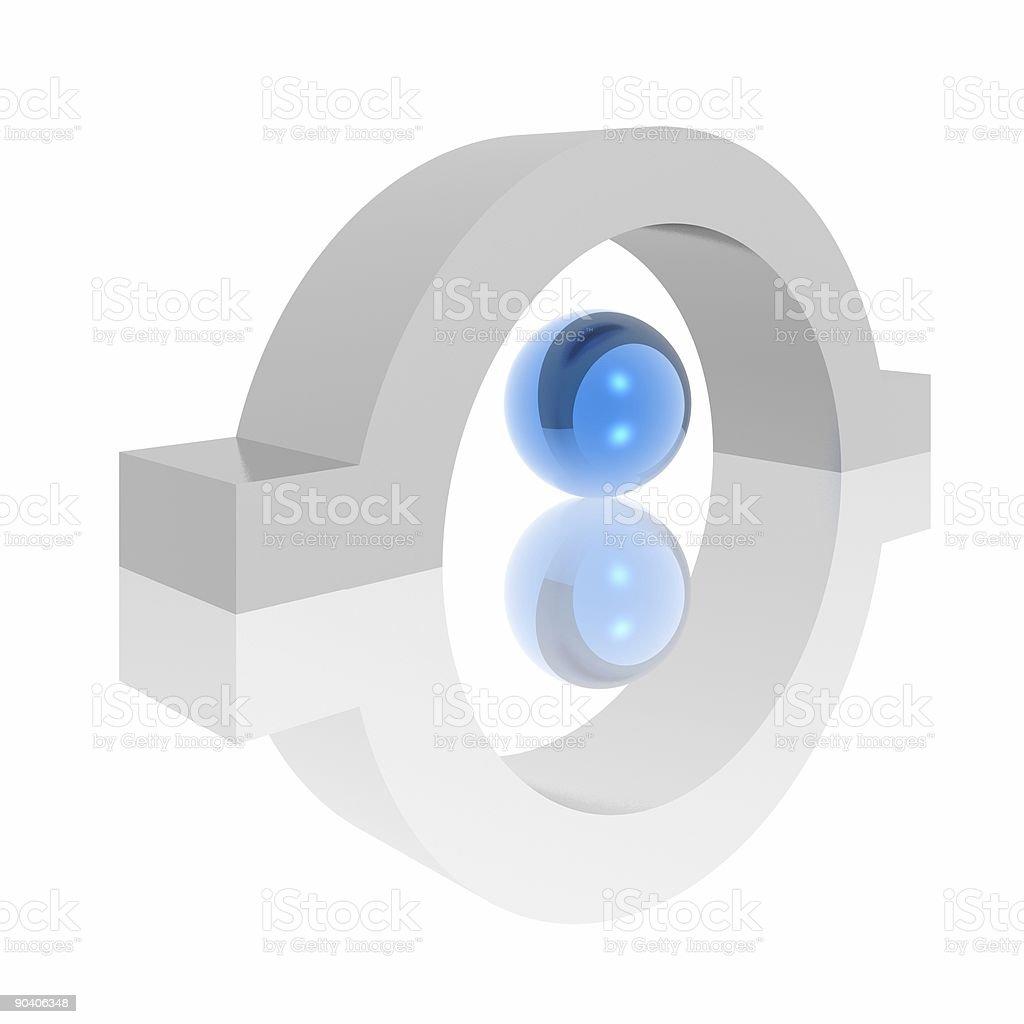 abstract symbol royalty-free stock photo