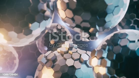 istock Abstract synapse activity 1089728464