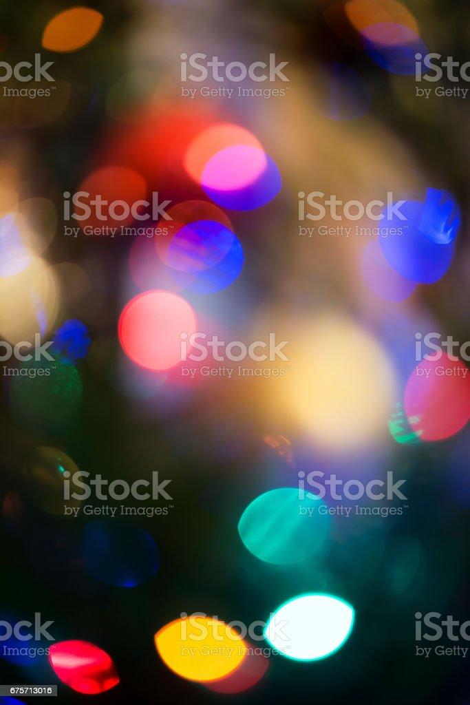 抽象帶著的聖誕彩燈,背景 免版稅 stock photo