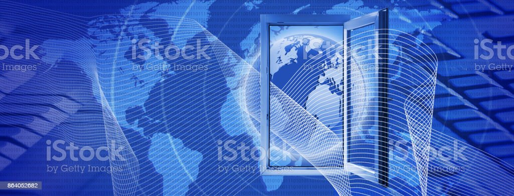 abstract technological background close up.3D images stock photo