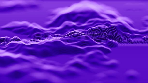 抽象技術背景 - 聲波 個照片及圖片檔