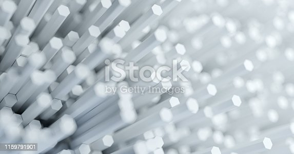 626187518istockphoto Abstract technological hexagonal background. 3d rendering. Geometric pattern. Graphic design elementfor wallpaper. Modern business card template 1159791901