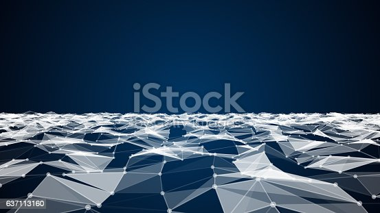 istock Abstract technology and science background 637113160