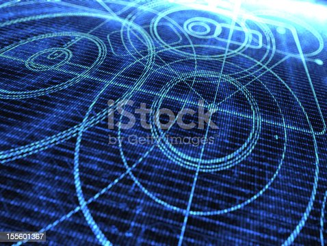 istock Abstract Technology Background 155601367