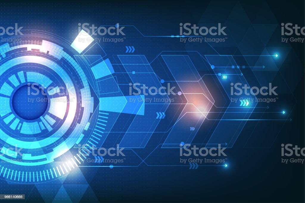 abstract technology communication concept - Royalty-free Abstract Stock Photo