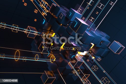 istock Abstract technology concept 1089004698
