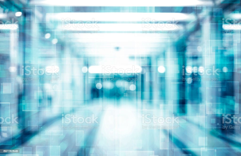 abstract technology space background stock photo