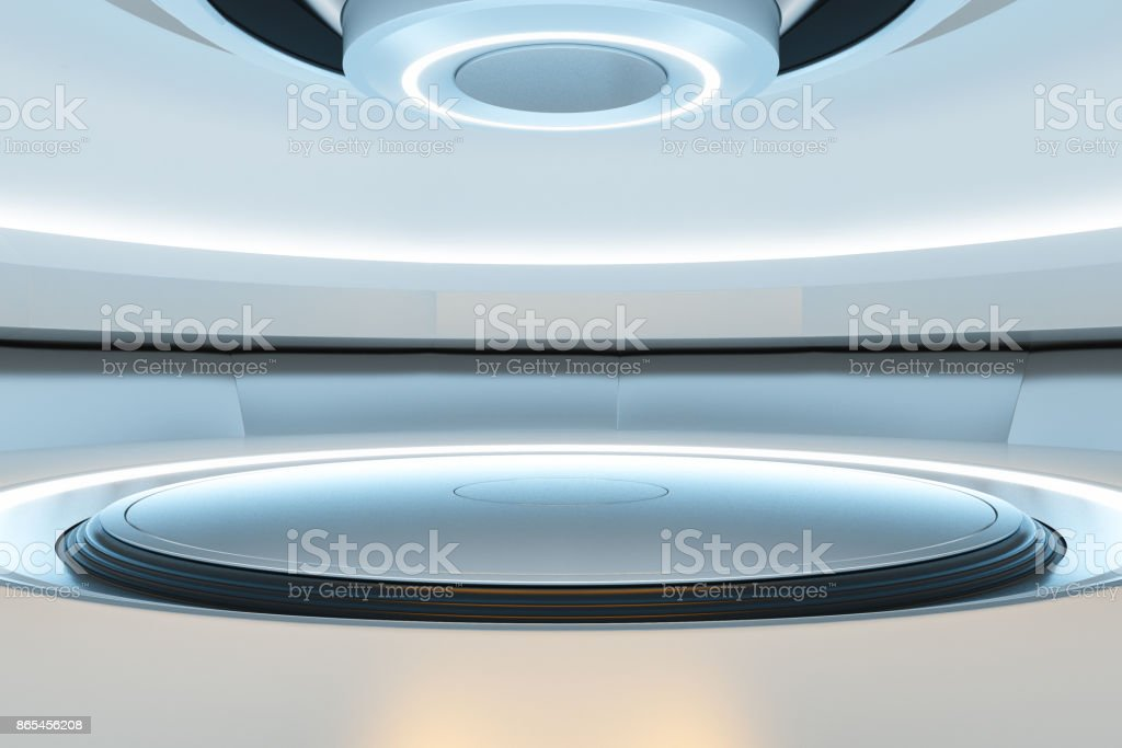 Abstract teleporter stock photo