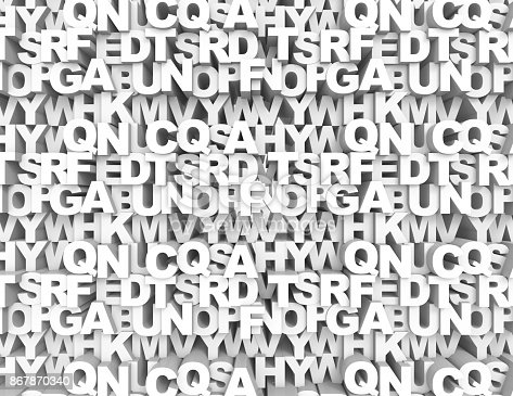 istock Abstract text background 867870340