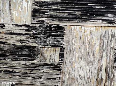 istock Abstract texture background of native thatching on island hut. 578596530