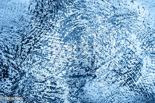 Abstract grunge blue and grey concrete texture background. Beton blue concrete surface.